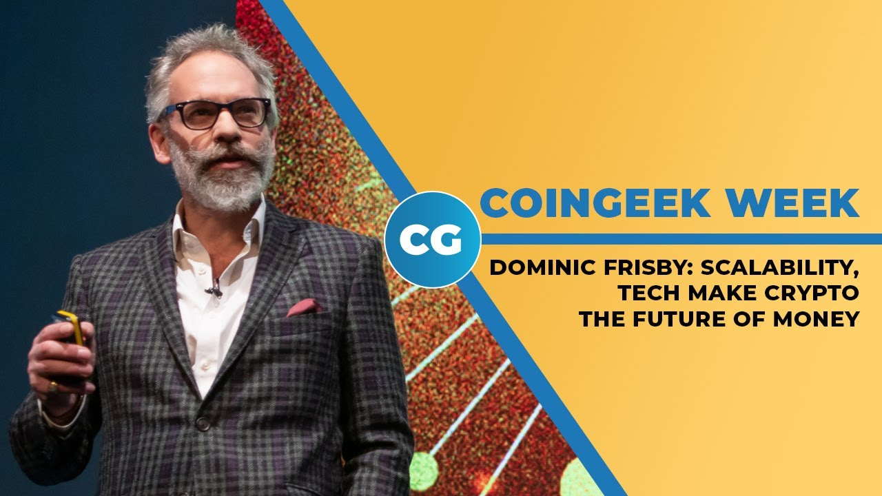 Dominic Frisby talks about the future of work and money
